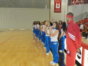 Sixers dancer introductions
