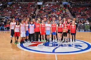 2013 girls all star game at the wells fargo center