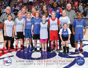 2017 Girls Camps All-Stars