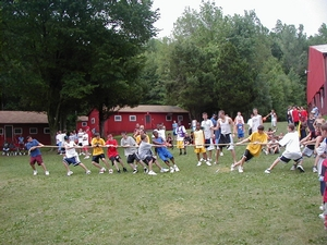 Team Olympics and the tug-of-war