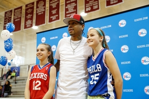 IVERSON WITH OUR GIRL BALLERS