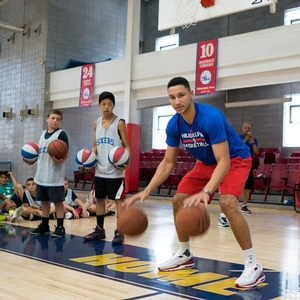 Drills with Ben Simmons.