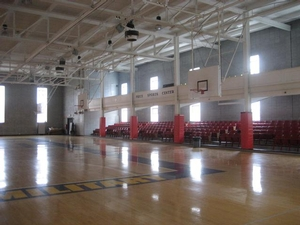Valley Forge Academy indoor gym