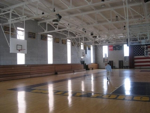 Valley Forge Academy gym