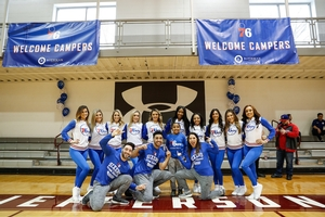 SIXERS CAMPER WITH THE DANCE TEAM AND DUNK SQUAD