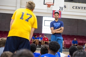 Markelle answers campers' questions