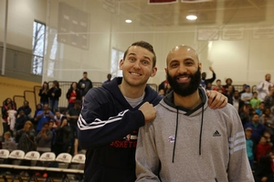 76ers, Nik Stauskas & Kendall Marshall like taking pictures too!