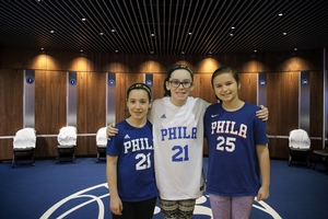 THANKS FOR SENDING ME TO SIXERS CAMP!