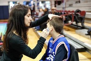 76ERS FACE PAINTING